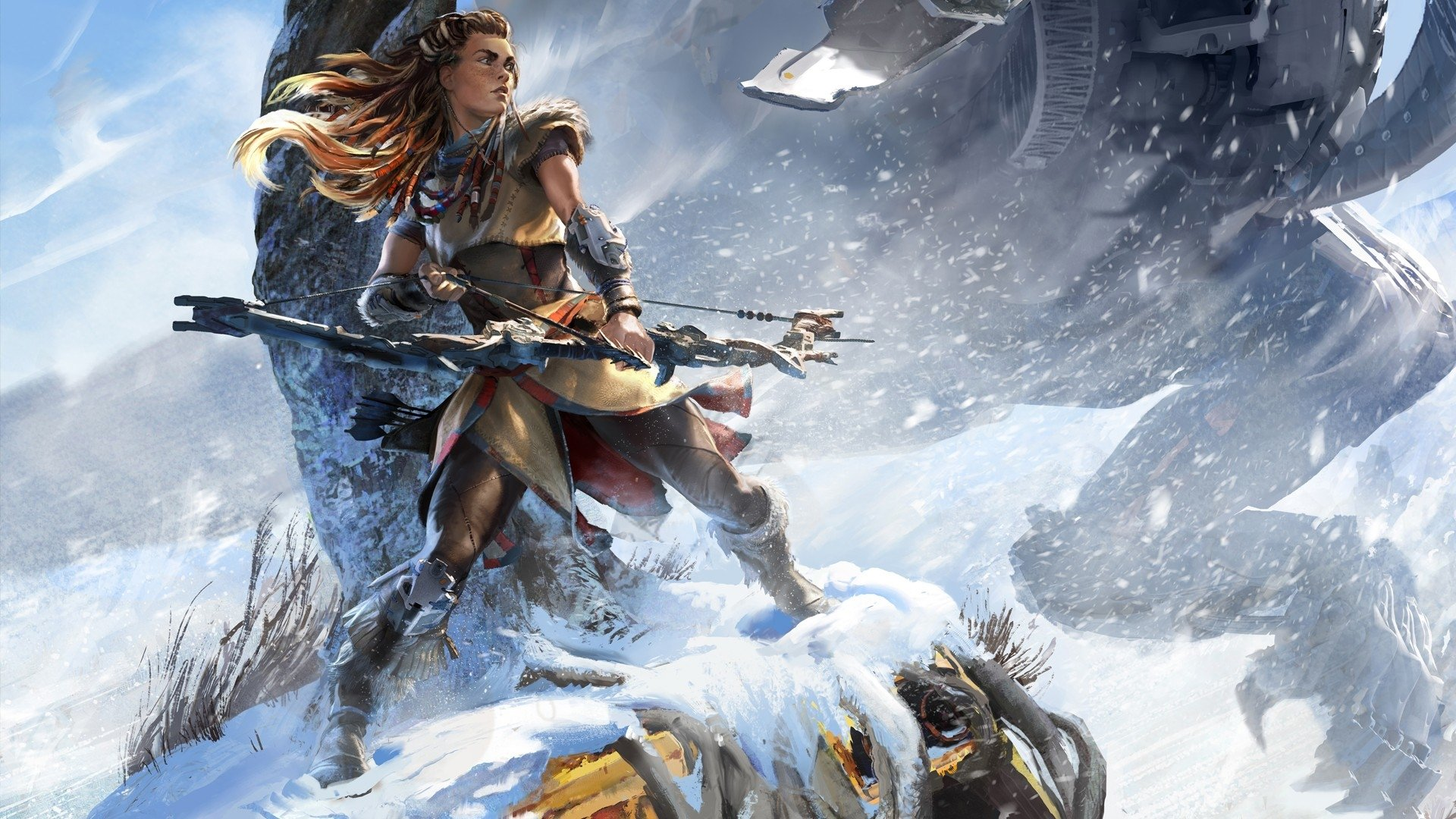 131 Aloy Horizon Zero Dawn Hd Wallpapers Background Images