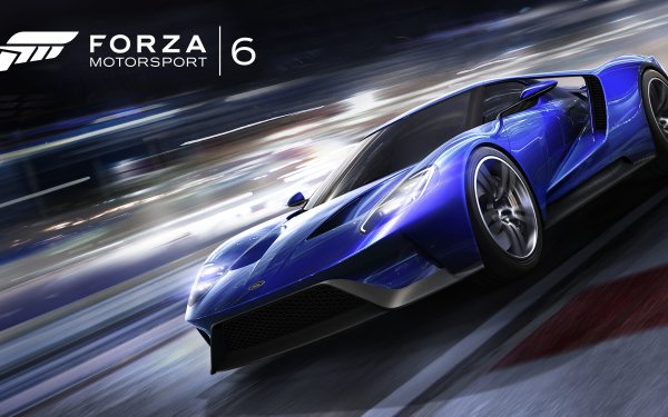 Video Game Forza Motorsport 6 Forza Ford GT HD Wallpaper | Background Image