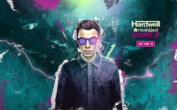 Music Hardwell DJ Revealed Recordings HD Wallpaper | Background Image
