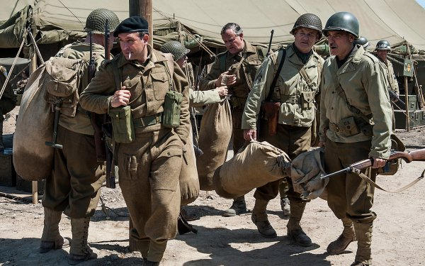 Movie The Monuments Men Bill Murray Jean Dujardin George Clooney HD Wallpaper | Background Image