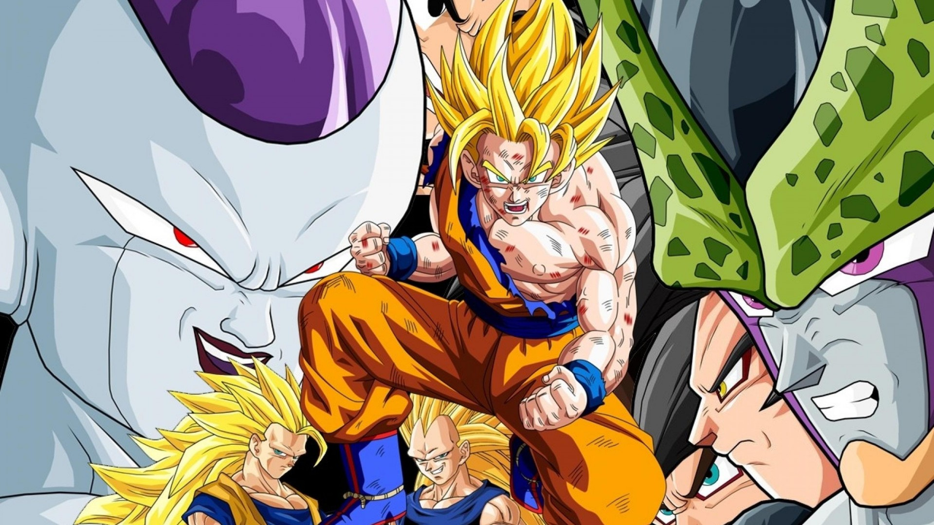 Dragon Ball Z Full HD Wallpaper And Background Image