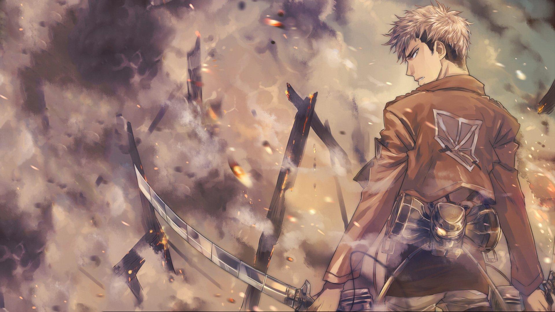 Shingeki No Kyojin Jean Kirstein Hd Wallpaper Background Image 1920x1080 Id 607875 Wallpaper Abyss