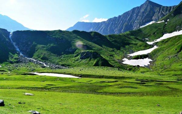 Earth Landscape Nature Hill Mountain Grass Pakistan HD Wallpaper | Background Image
