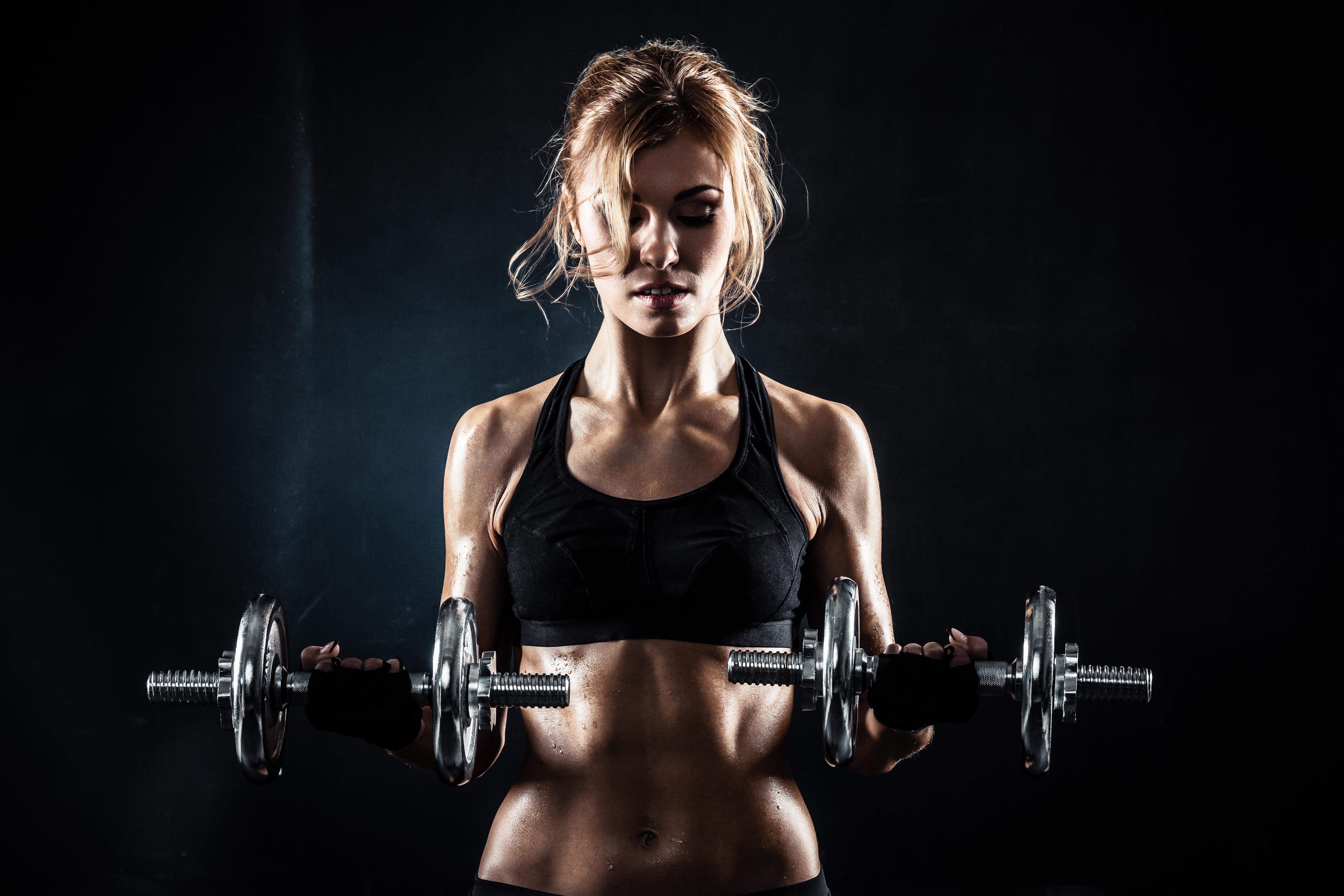 Fitness Girl 5k Retina Ultra Fondo De Pantalla Hd Fondo De