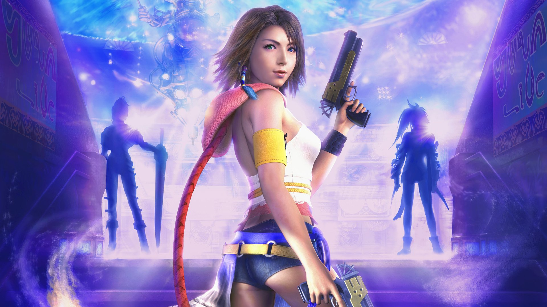 26 final fantasy x-2 hd wallpapers | background images - wallpaper abyss