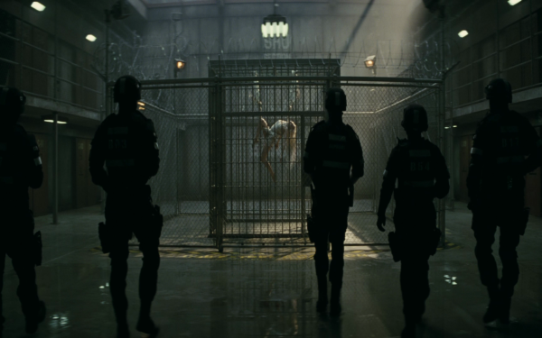 Movie Suicide Squad Cage HD Wallpaper | Background Image