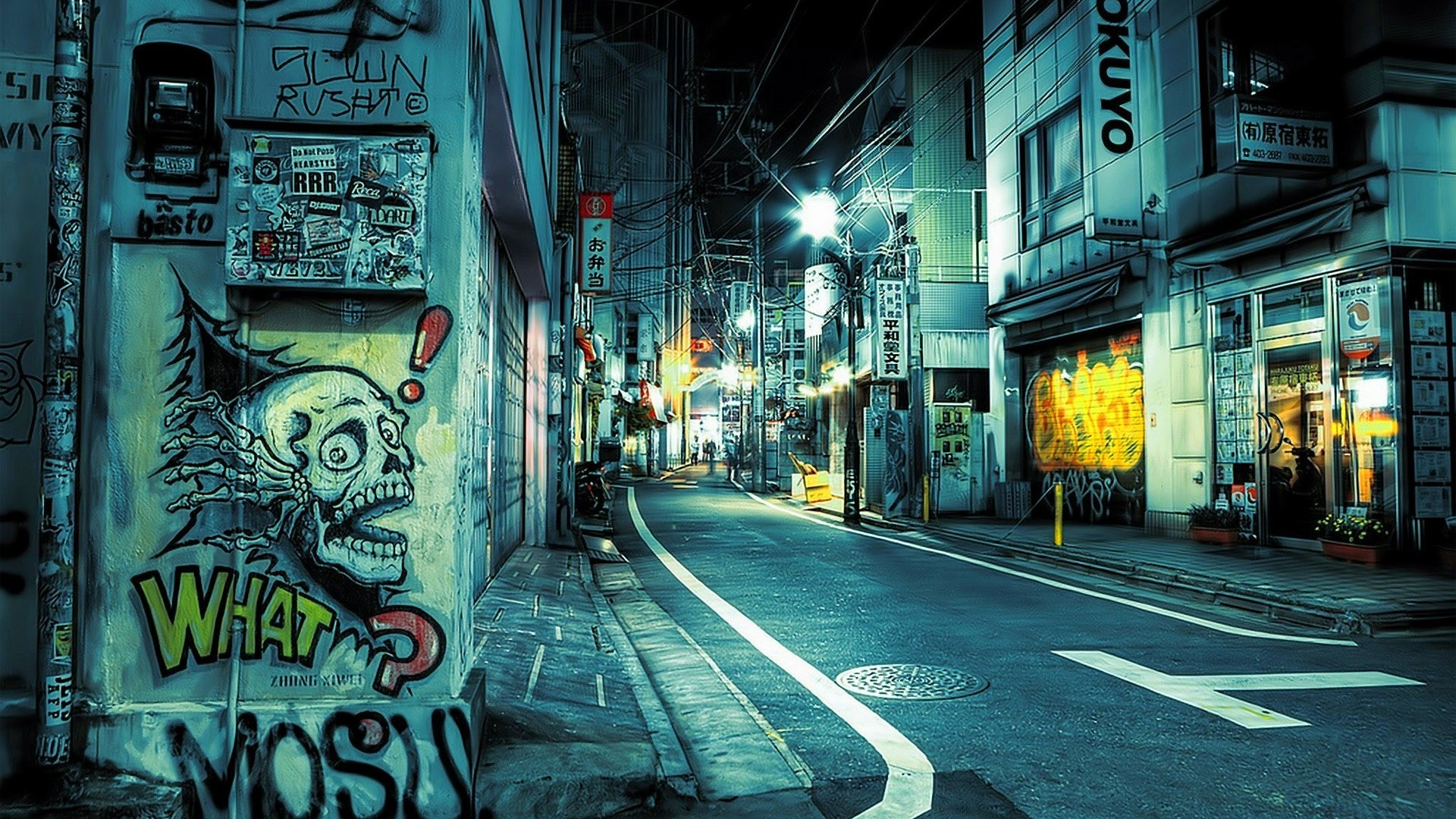 Street Full HD Wallpaper And Background Image