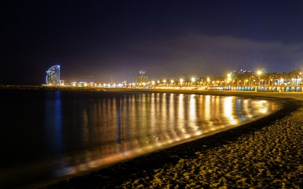 Man Made Barcelona Cities Spain HD Wallpaper | Background Image