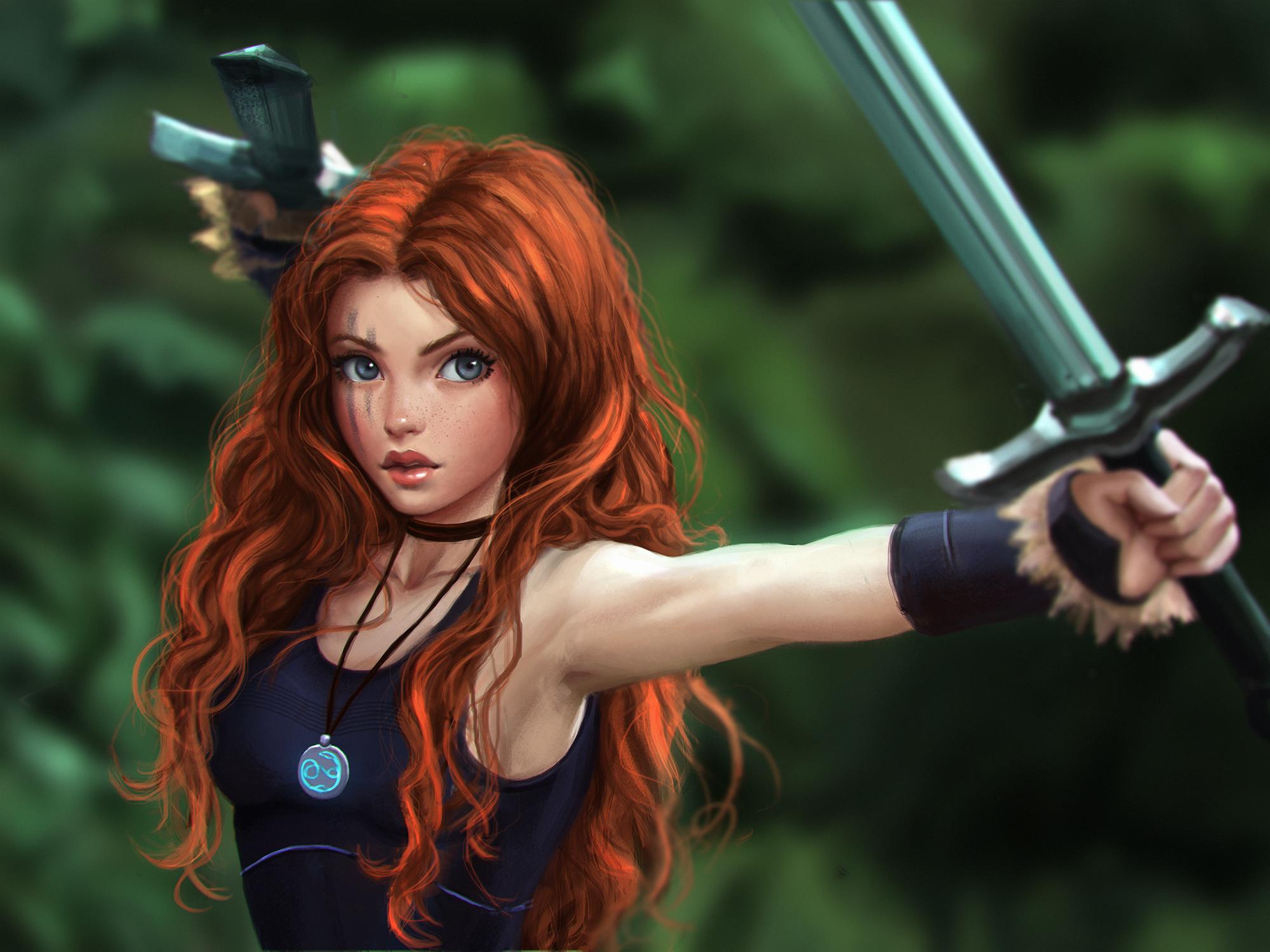 Fantasy epic women sexy image