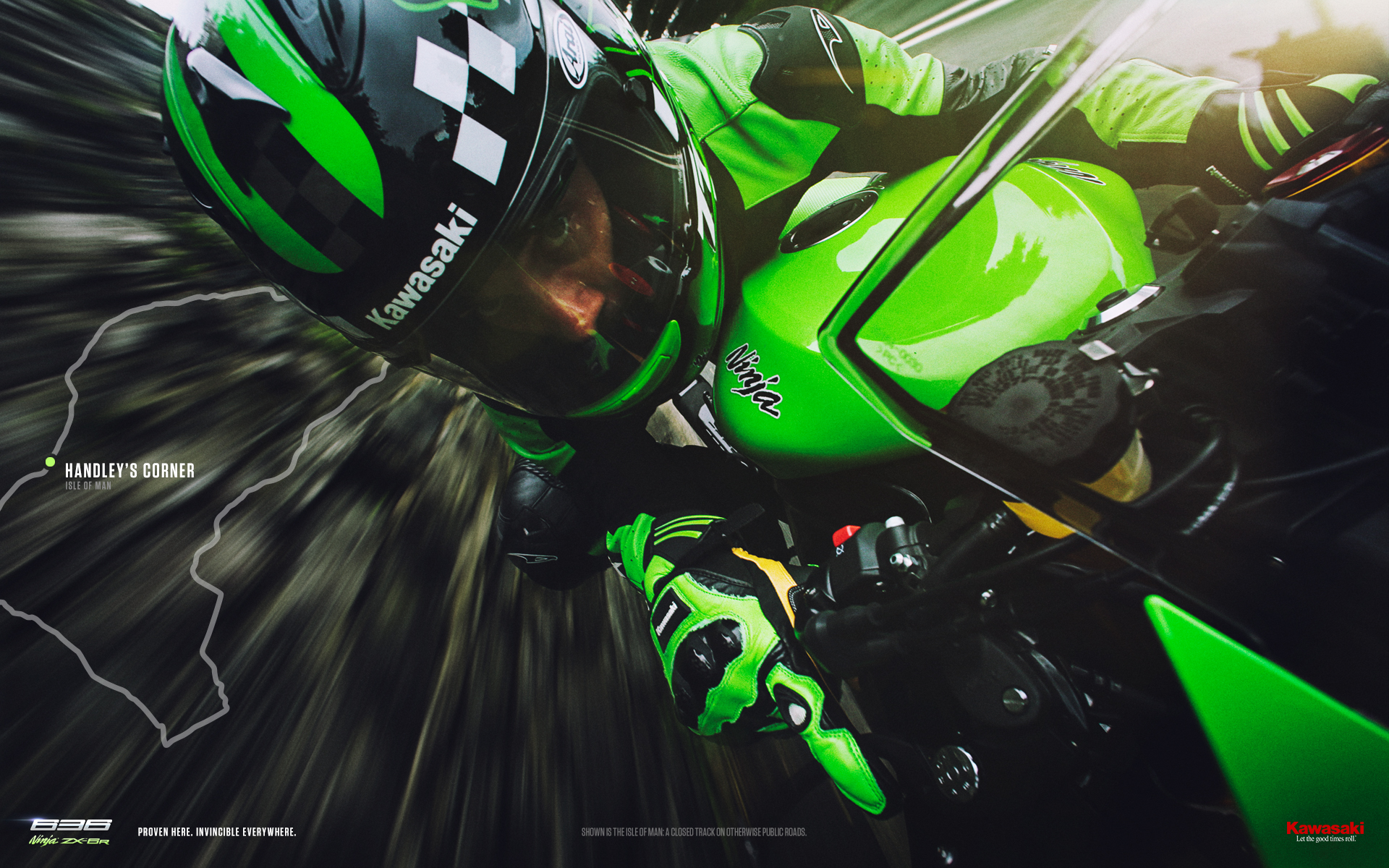 Kawasaki Ninja HD Wallpaper