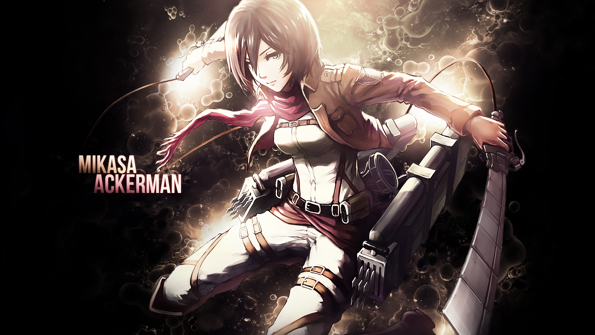 Mikasa ackerman full hd wallpaper and background image 1920x1080 anime attack on titan mikasa ackerman wallpaper voltagebd Images