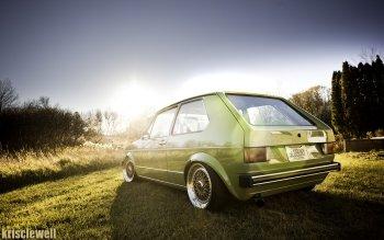 1 Volkswagen Golf Mk1 Fondos De Pantalla Hd Fondos De