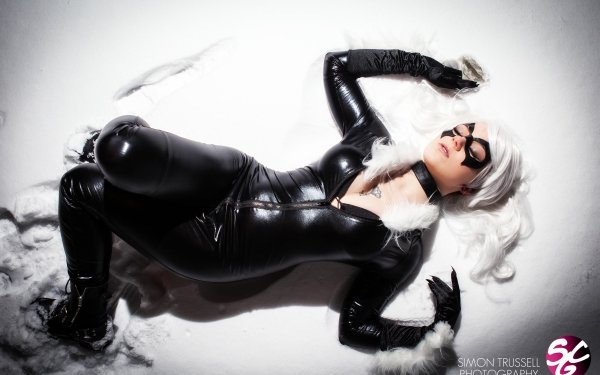 Femmes Cosplay Black Cat Fond d'écran HD | Image