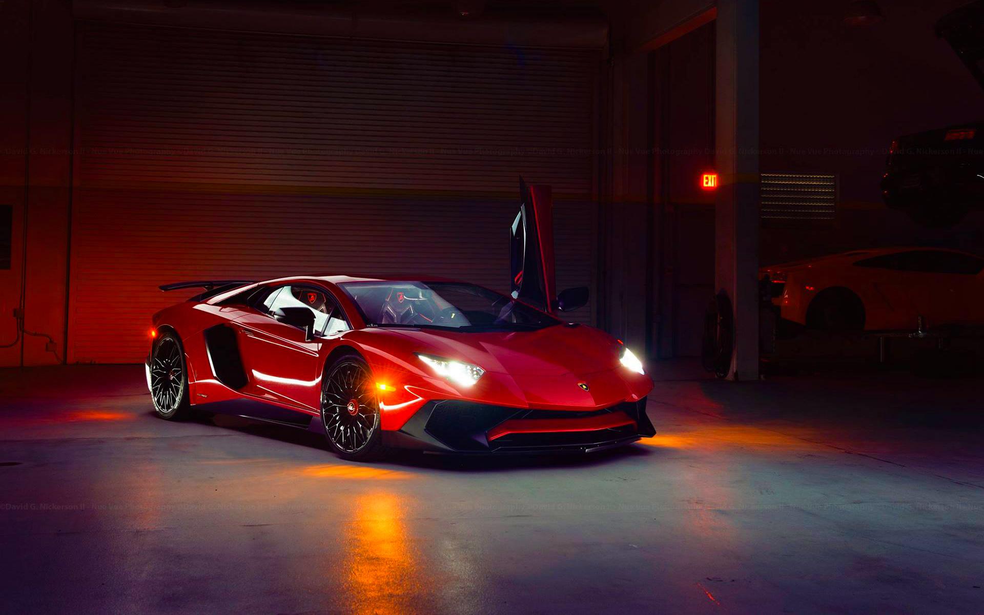 Lamborghini Aventador Superveloce Hd Wallpaper Hintergrund