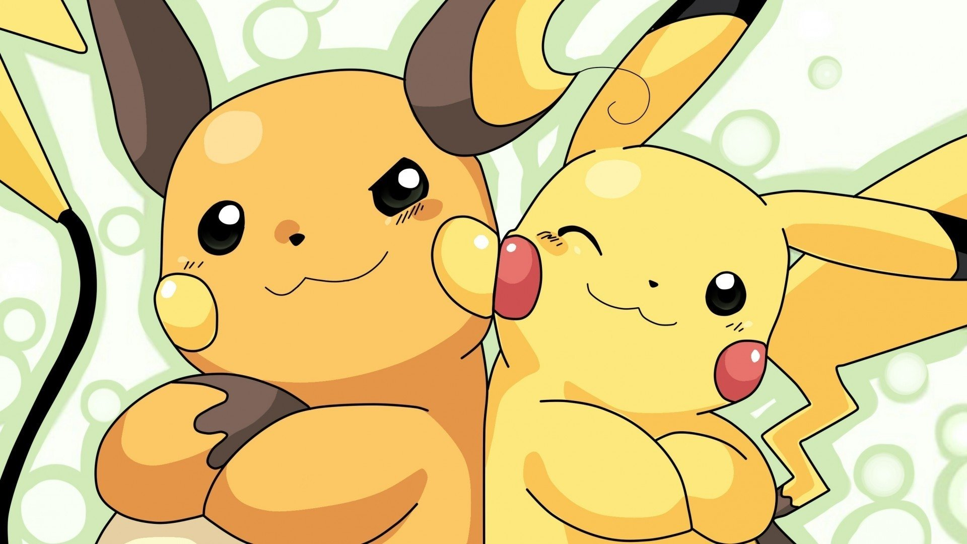 Anime - Pokémon  Pikachu Raichu (Pokémon) Anime Video Game Wallpaper