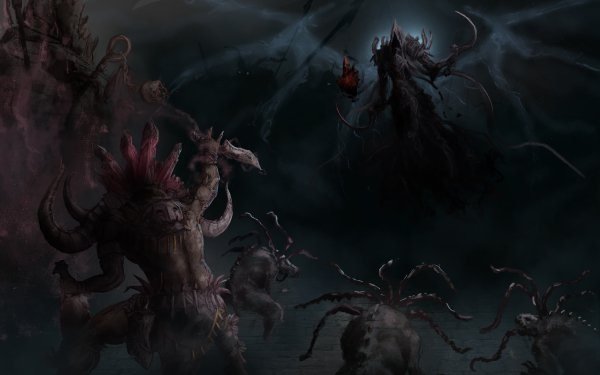 Video Game Diablo III: Reaper Of Souls Diablo Malthael Witch Doctor HD Wallpaper | Background Image