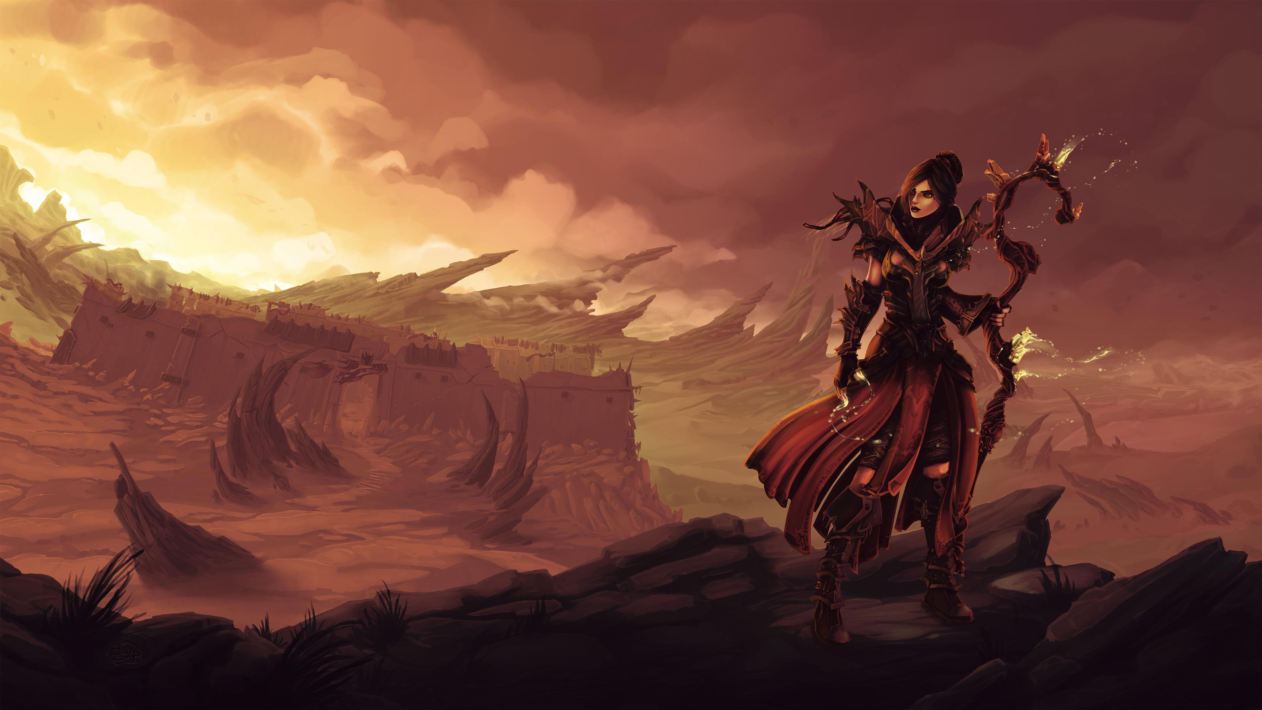Diablo III 4k Ultra HD Wallpaper | Background Image ...