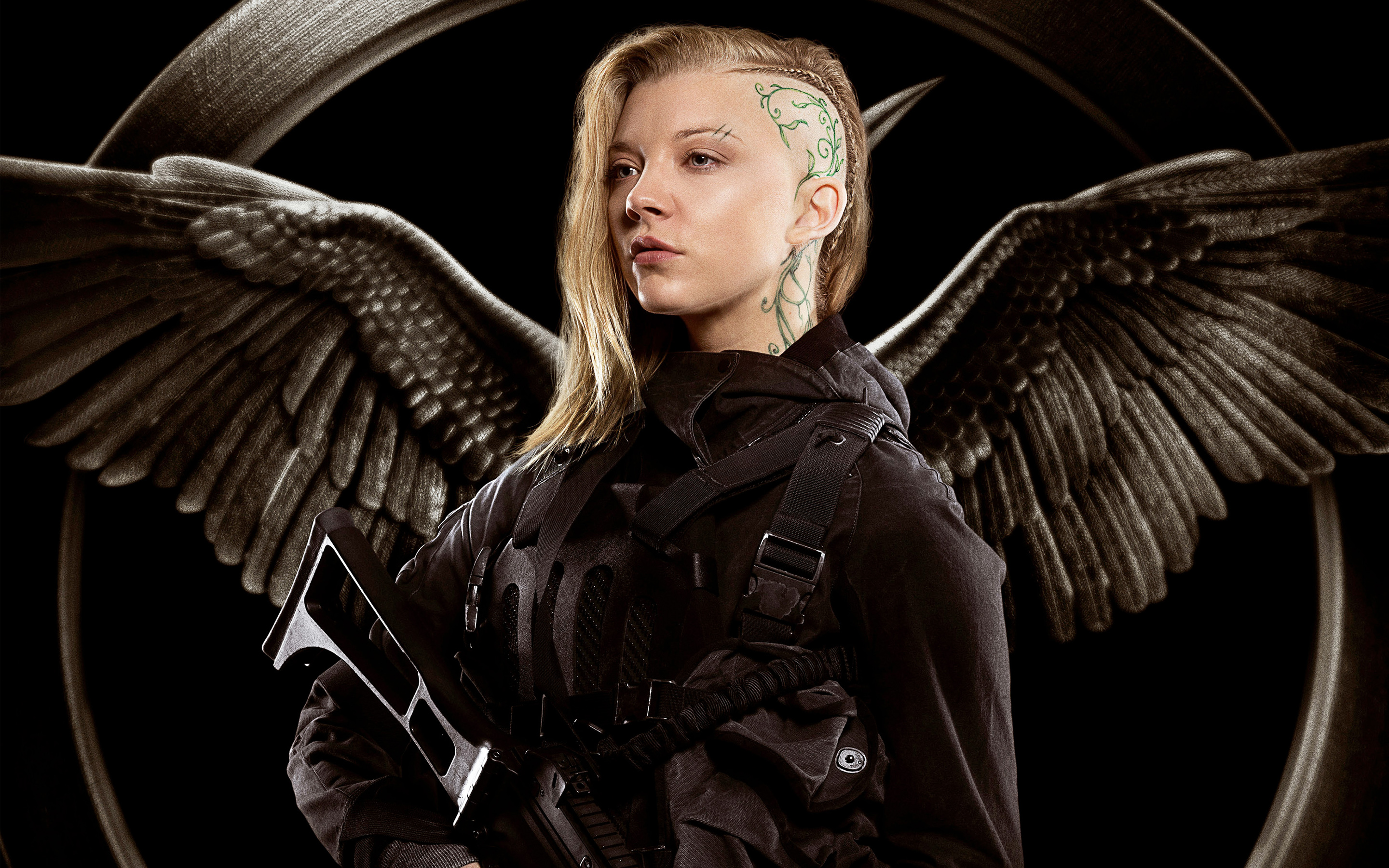 The hunger games mockingjay part 1 full hd wallpaper and movie the hunger games mockingjay part 1 natalie dormer cressida the hunger voltagebd Choice Image