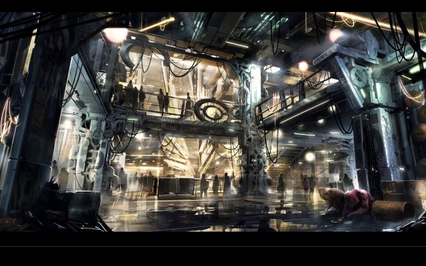 Video Game Deus Ex: Mankind Divided Deus Ex HD Wallpaper | Background Image