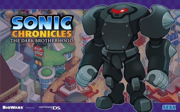 Video Game Sonic Chronicles: The Dark Brotherhood Sonic HD Wallpaper   Background Image