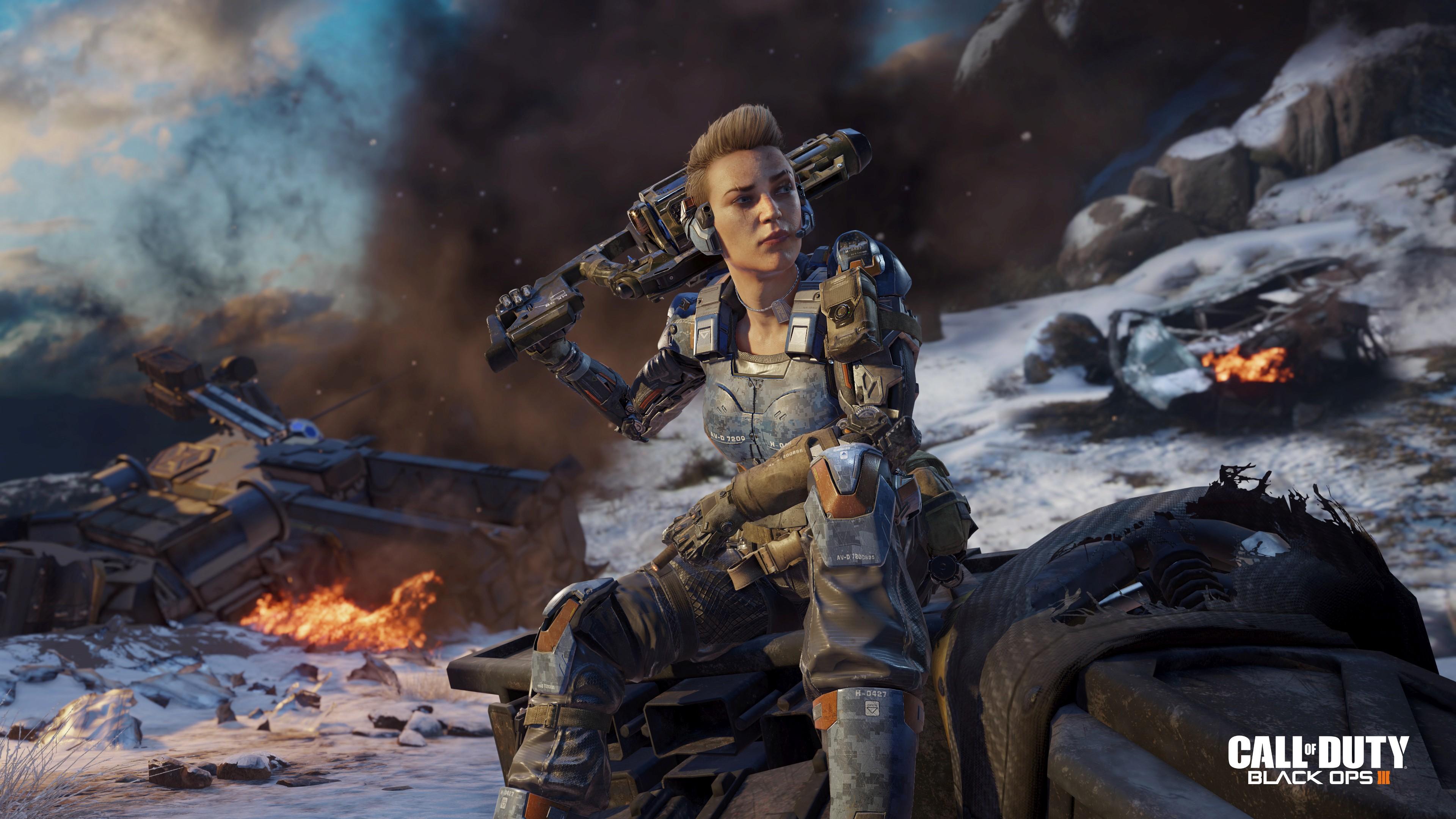 Cod Black Ops 3 Wallpaper: Call Of Duty: Black Ops III 4k Ultra HD Wallpaper