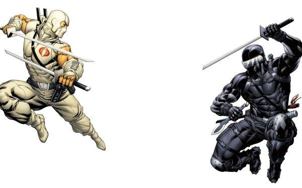 Comics G.I. Joe Snake Eyes Storm Shadow HD Wallpaper | Background Image