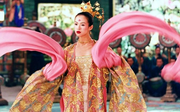 Movie House of Flying Daggers Zhang Ziyi HD Wallpaper   Background Image