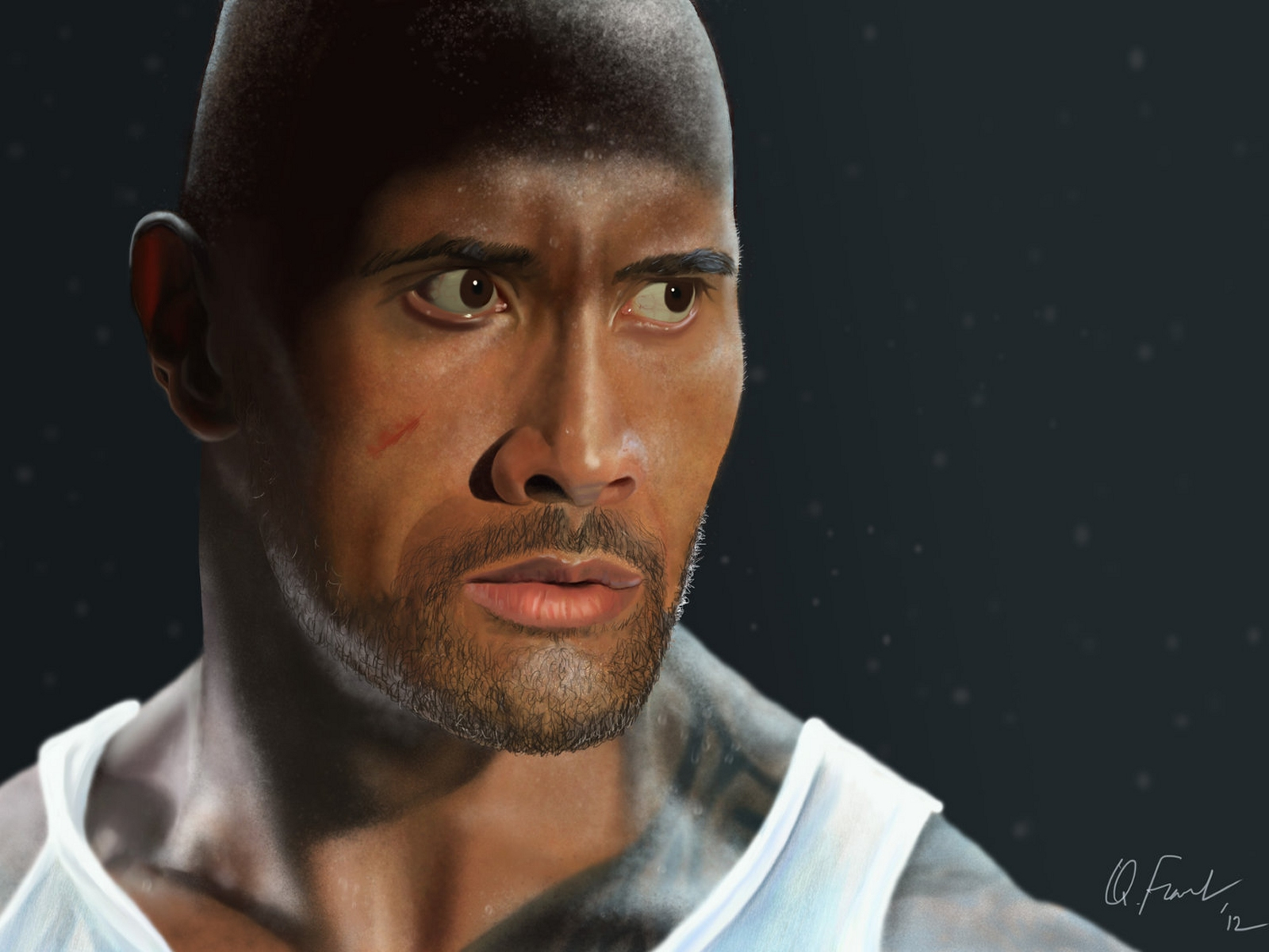 Dwayne Johnson Wallpaper And Background Image 1600x1200 Id