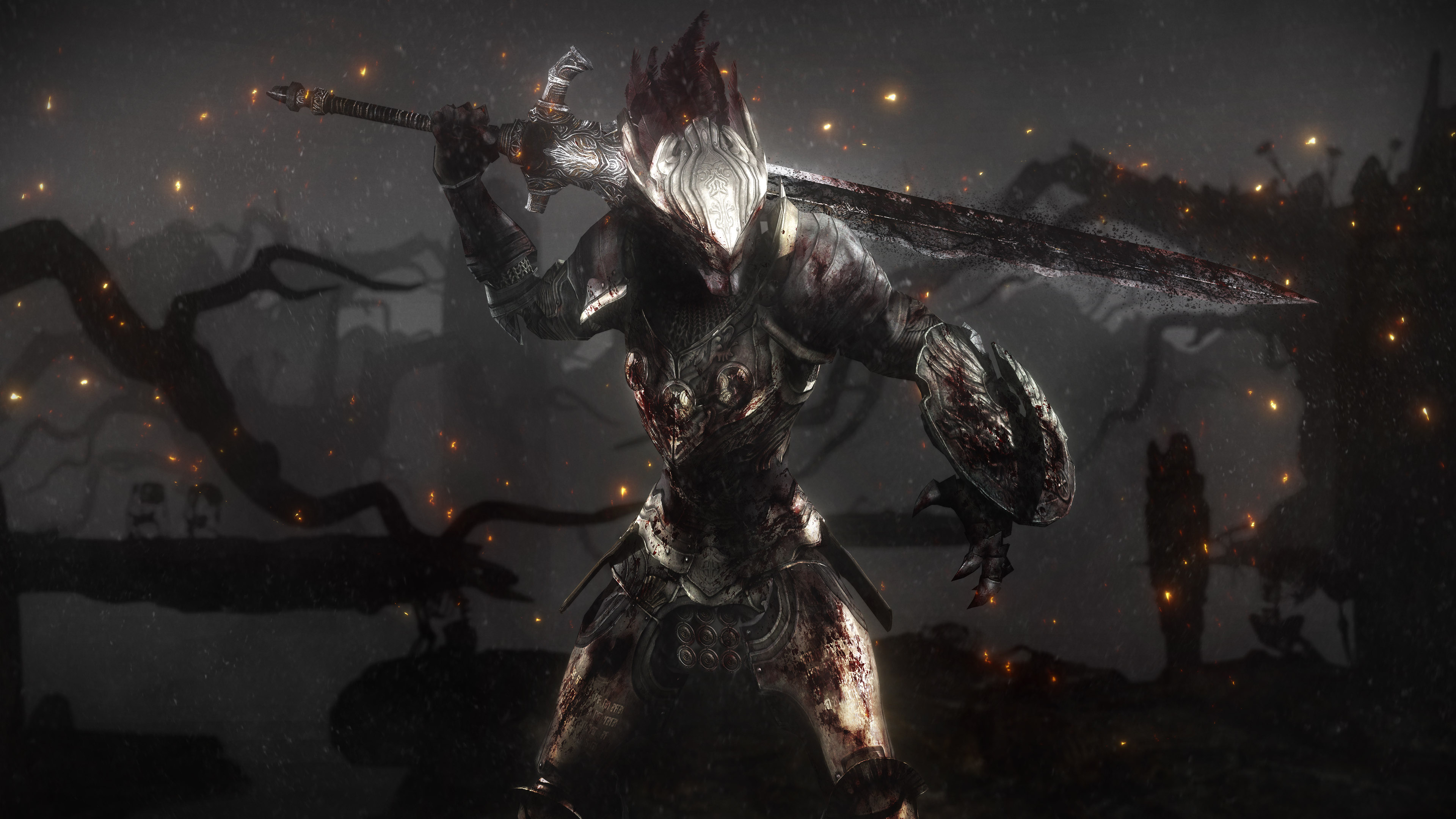 Dark Souls 3 Hd Wallpaper: Dark Souls 4k Ultra HD Wallpaper