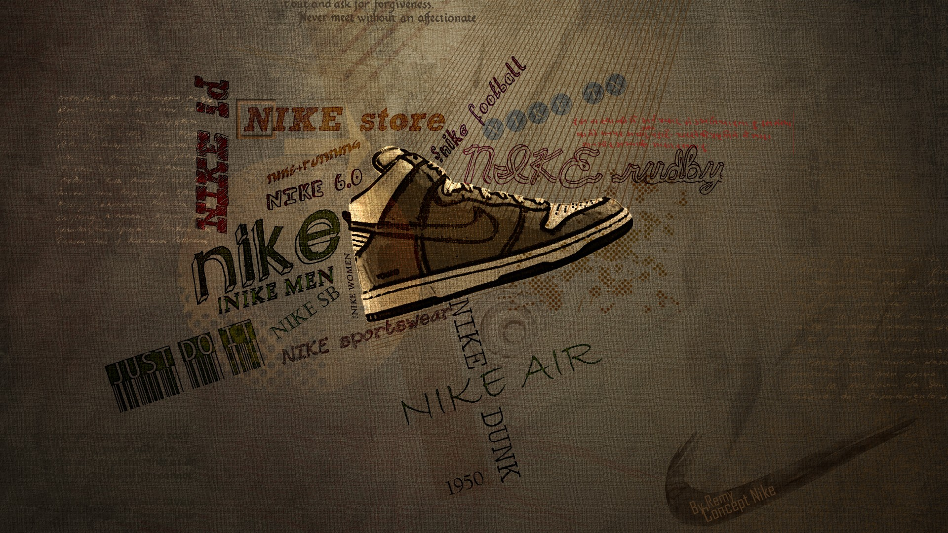Hd wallpaper nike - Hd Wallpaper Nike 50
