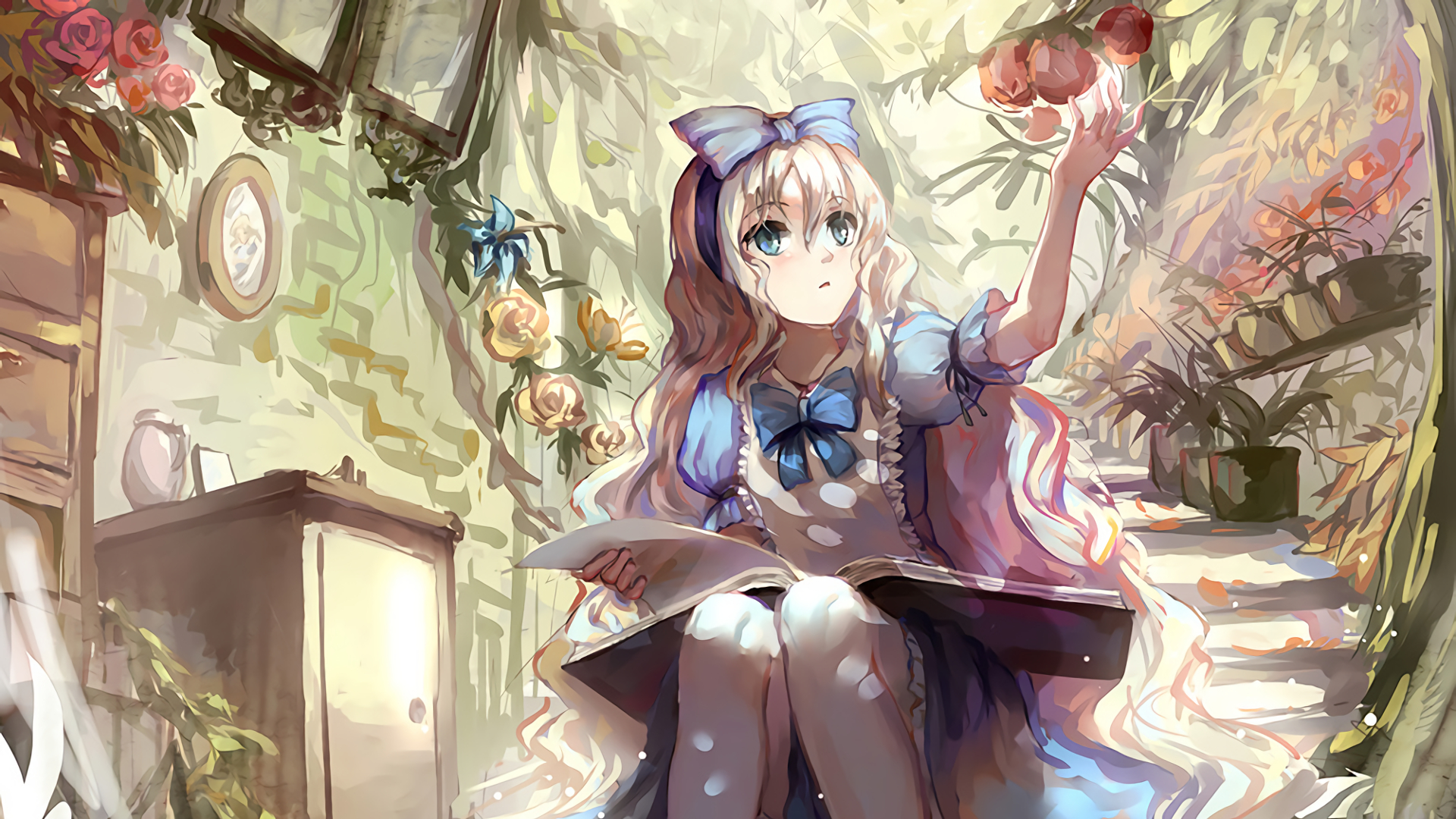 Alice In Wonderland Full HD Wallpaper and Background Image ...