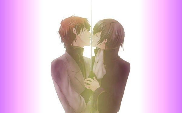 Anime Code Geass Lelouch Lamperouge Suzaku Kururugi Yaoi HD Wallpaper | Background Image