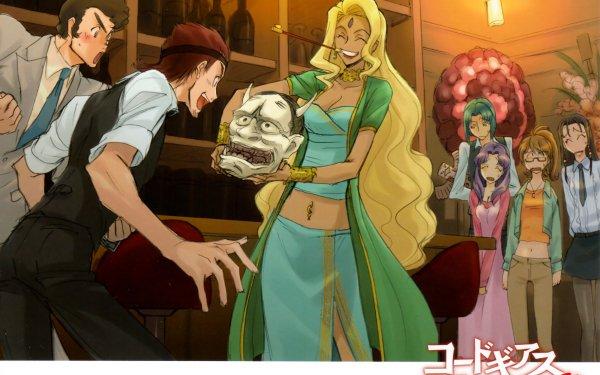 Anime Code Geass Ichijiku Hinata Kaname Ohgi Shinichiro Tamaki Mary Nina Einstein Mutsuki Minase HD Wallpaper | Background Image