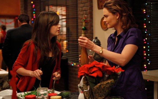 TV Show Bones Temperance Brennan Emily Deschanel Zooey Deschanel HD Wallpaper | Background Image