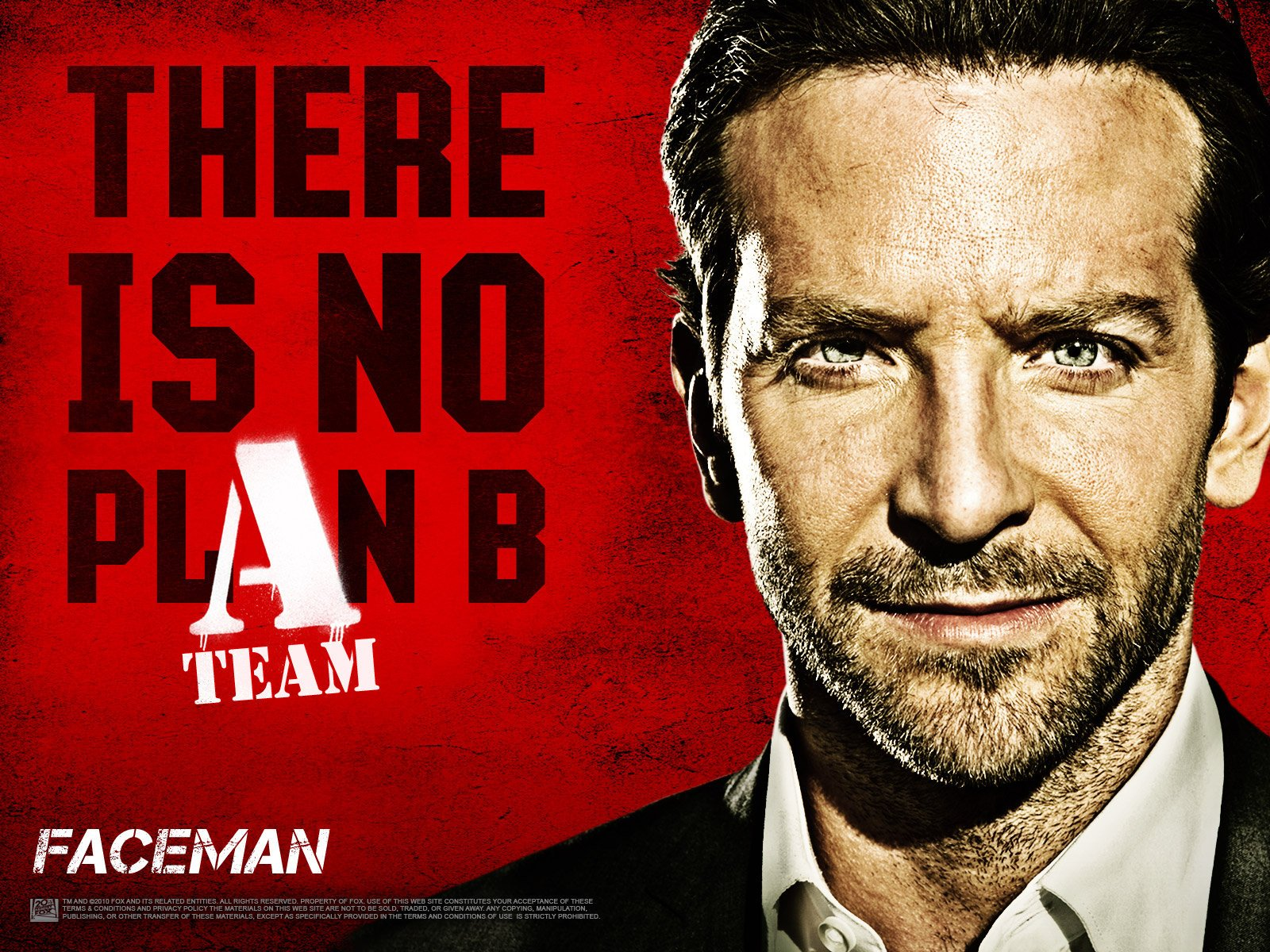 Movie - The A-Team  Bradley Cooper Wallpaper