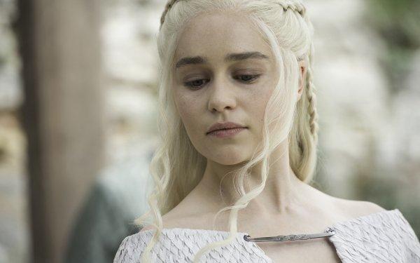 TV Show Game Of Thrones Daenerys Targaryen Emilia Clarke British Actress Face HD Wallpaper | Background Image