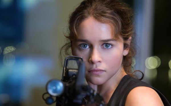Movie Terminator Genisys Terminator Sarah Connor Emilia Clarke HD Wallpaper | Background Image