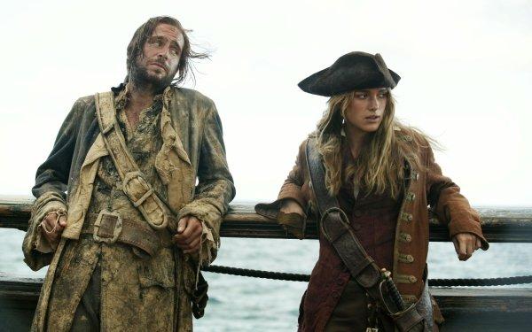 Movie Pirates Of The Caribbean: Dead Man's Chest Pirates Of The Caribbean Keira Knightley Elizabeth Swann Jack Davenport James Norrington HD Wallpaper   Background Image