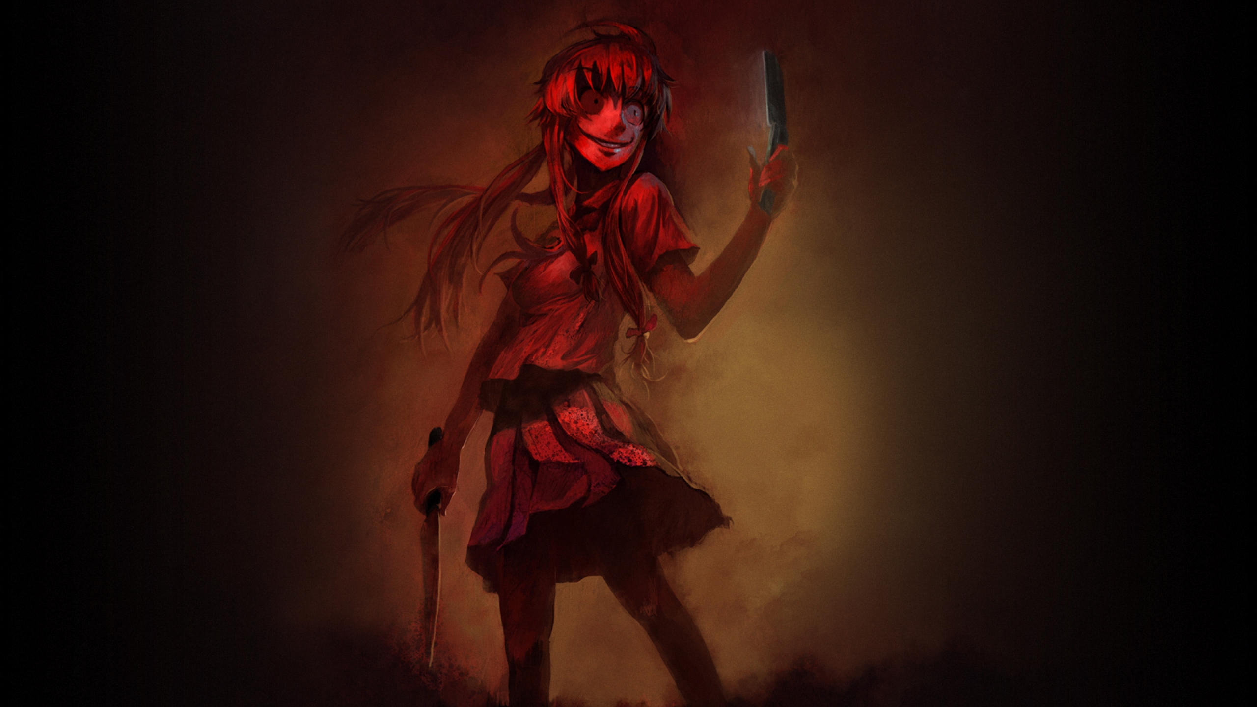 Yuno Gasai Full HD Wallpaper And Background Image