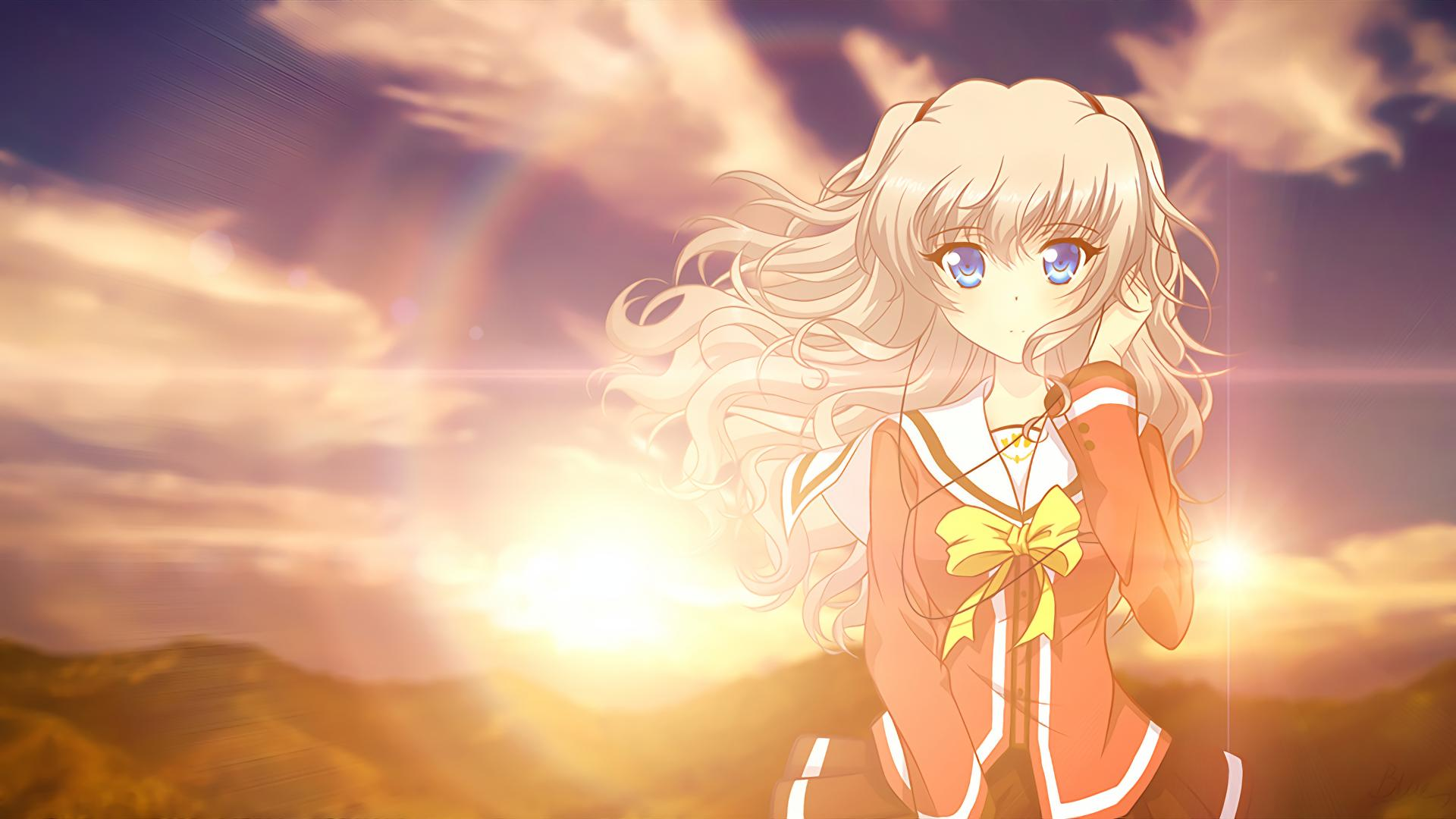 Anime   Charlotte Nao Tomori Charlotte (Anime) Anime Wallpaper