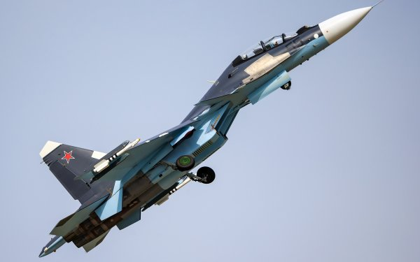 Military Sukhoi Su-30 Jet Fighters HD Wallpaper   Background Image