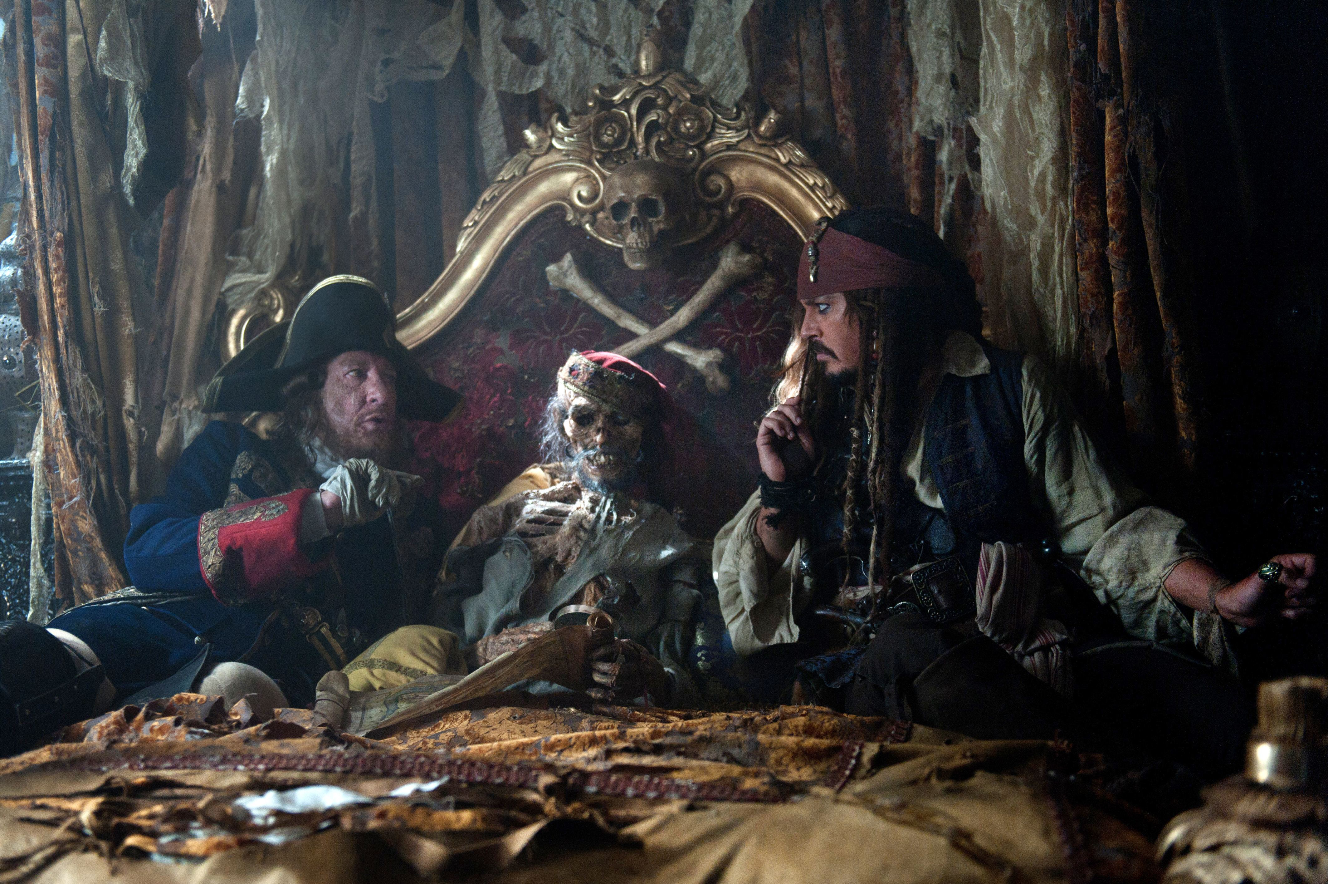 Pirates of the caribbean on stranger tides 4k ultra hd wallpaper movie pirates of the caribbean on stranger tides jack sparrow johnny depp hector barbossa voltagebd Image collections