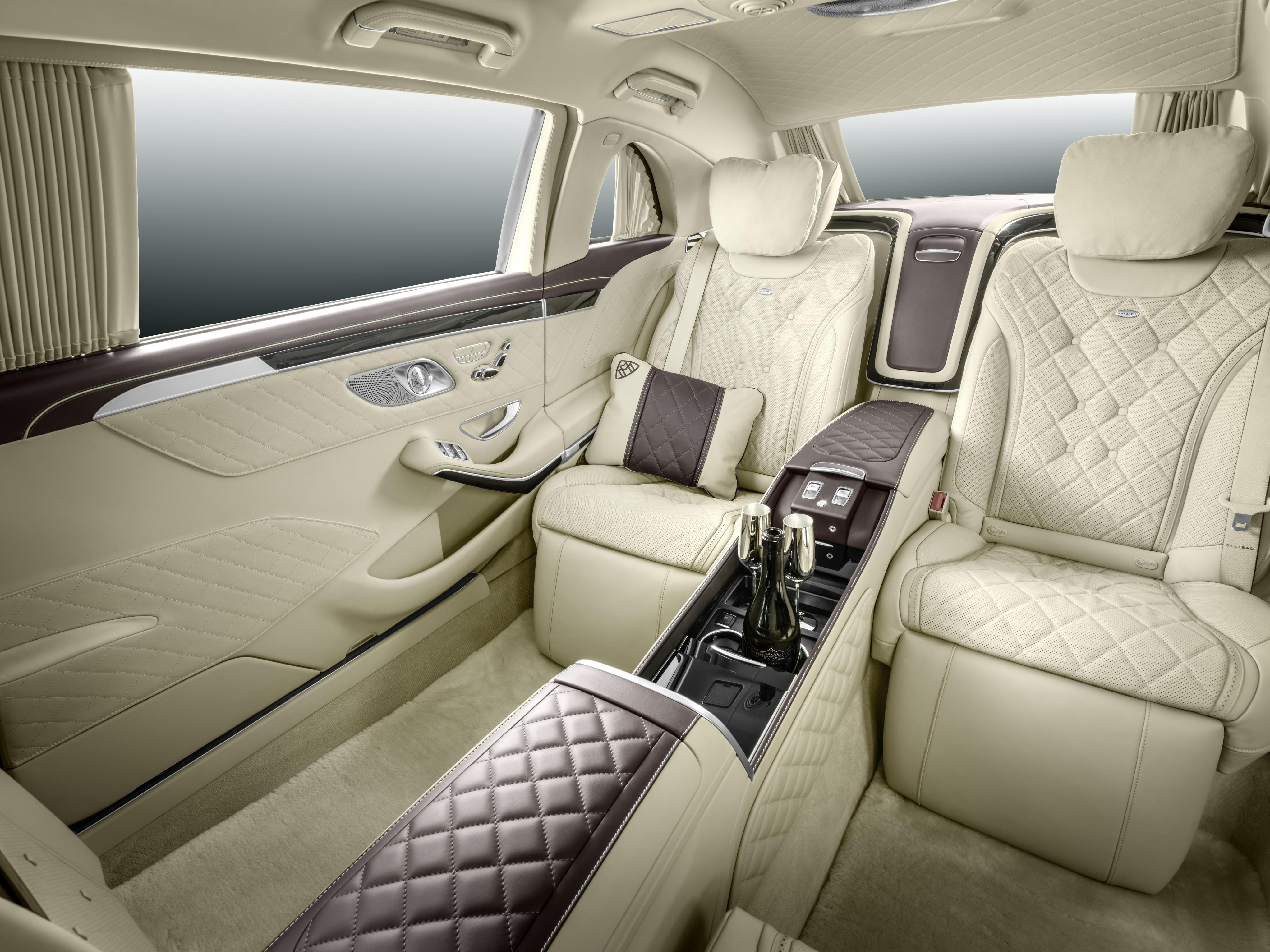 Nice Vehicles   Mercedes Maybach S600 Pullman Car Interior Wallpaper