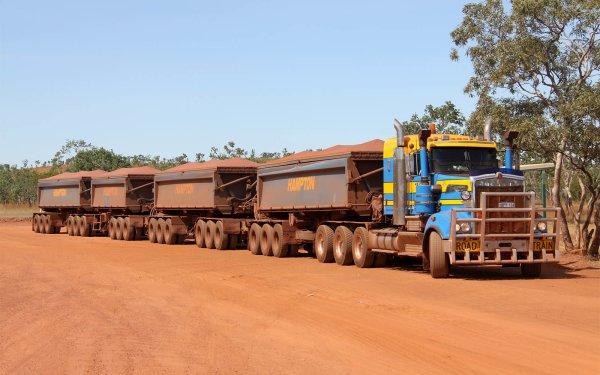 Vehicles Semi Road Train Truck Australia HD Wallpaper | Background Image