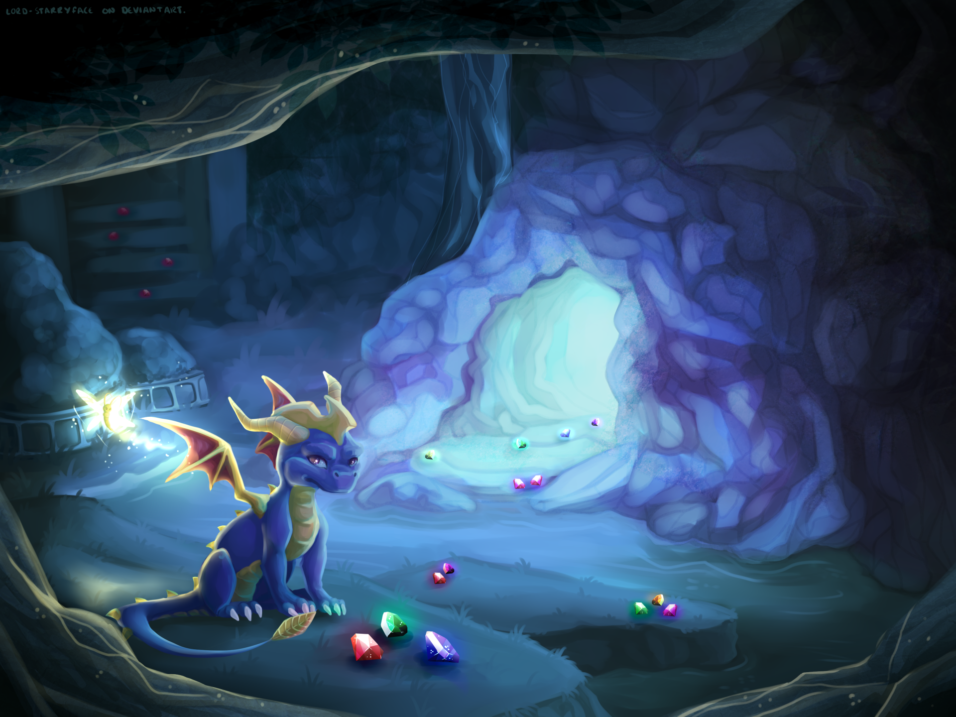 Spyro and sparx hd wallpaper background image - Spyro wallpaper ...