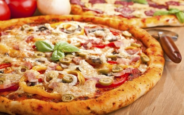 Food Pizza Italian Lunch Meal HD Wallpaper | Background Image