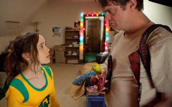 Movie Super Ellen Page Rainn Wilson HD Wallpaper | Background Image