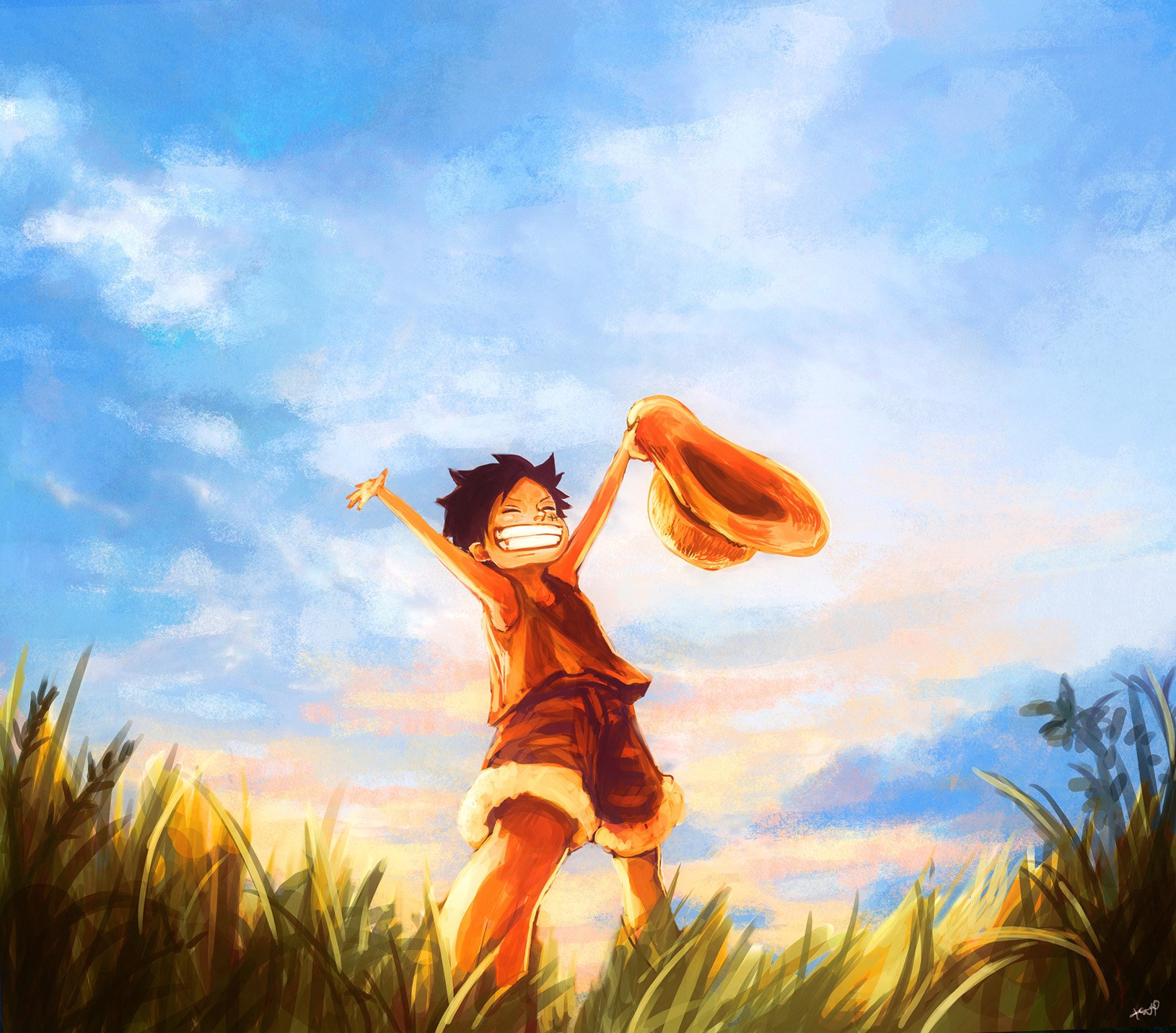 One Piece Wallpapers Luffy 72 Background Pictures: Monkey D. Luffy Wallpaper And Background Image