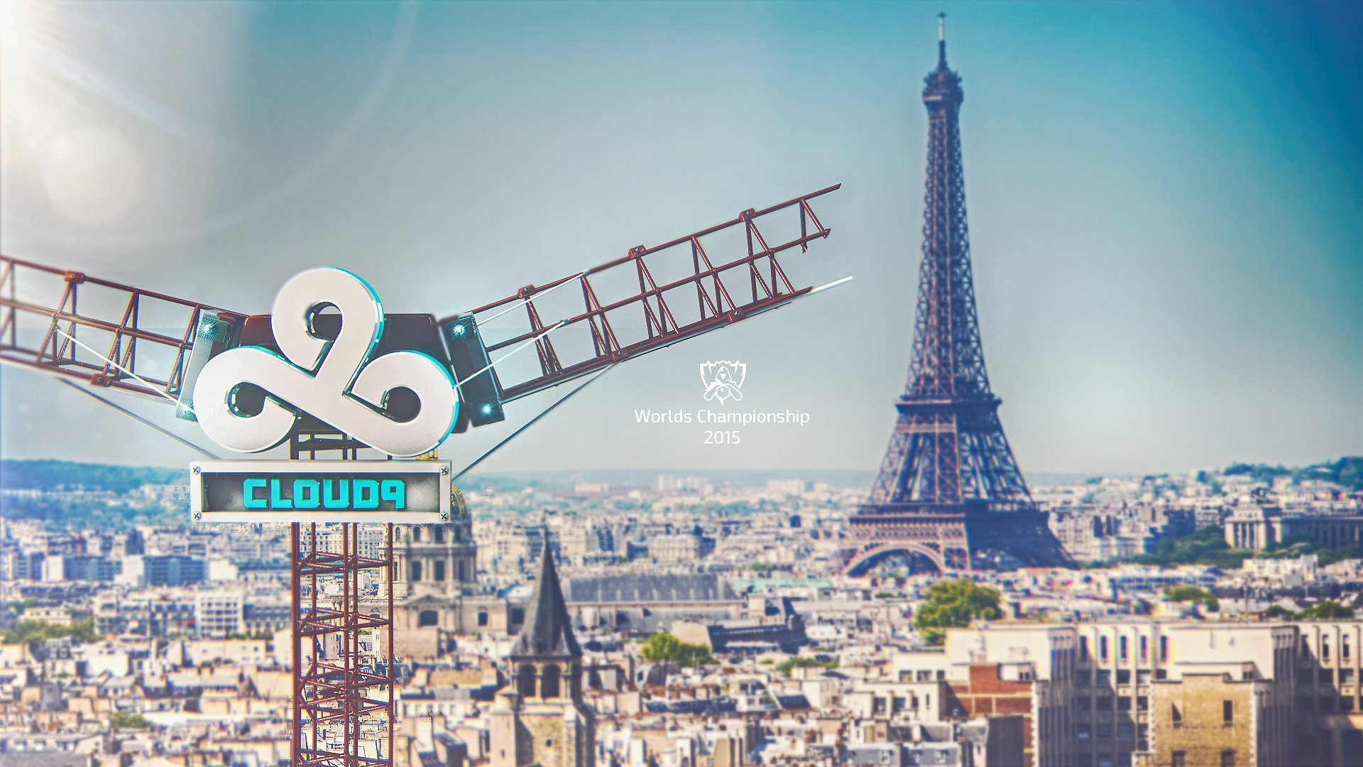 Esport Wallpaper Android: Cloud 9 - Worlds 2015 HD Wallpaper