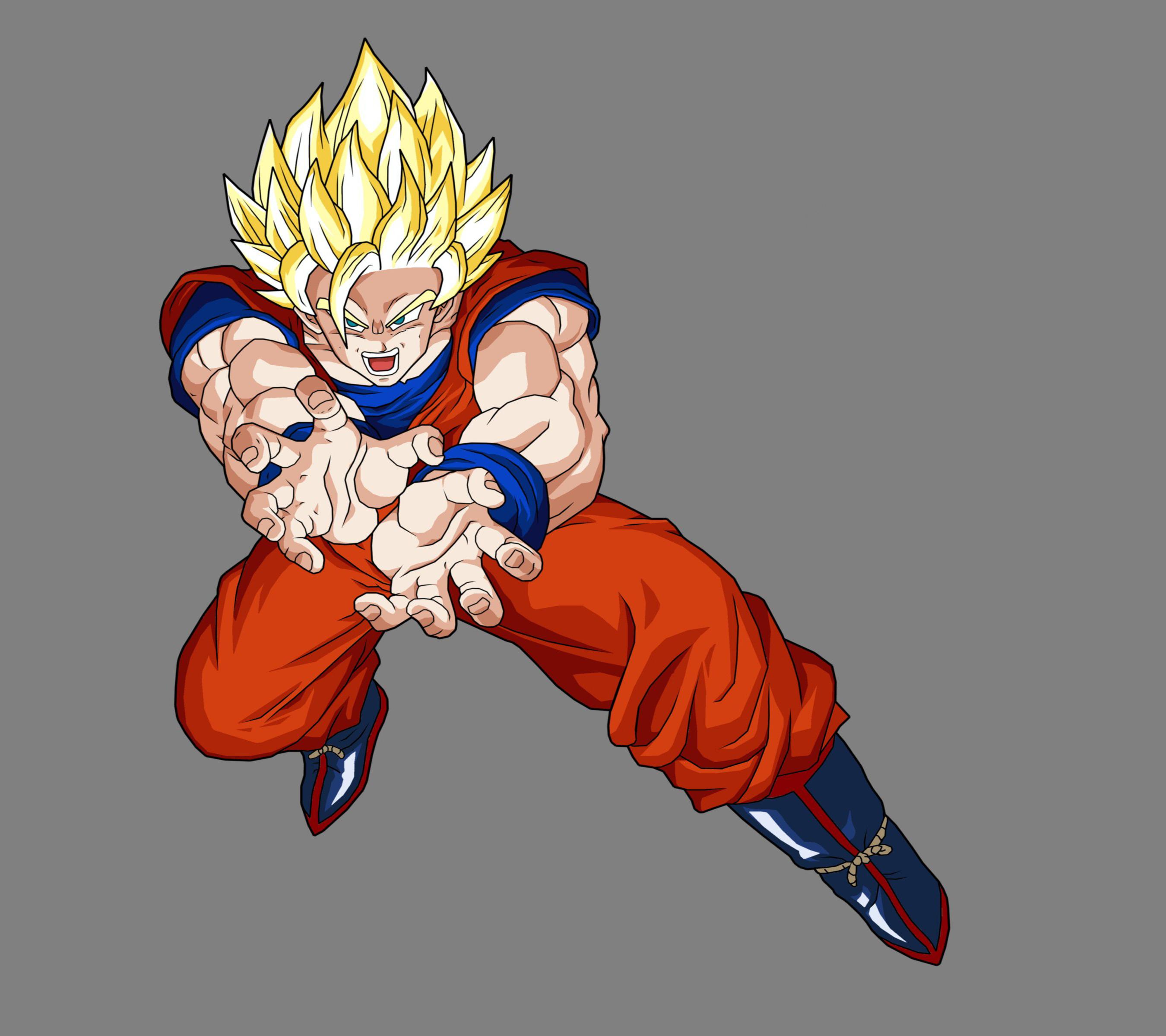 Goku Ssj2 Kamehameha Fondo De Pantalla Hd Fondo De